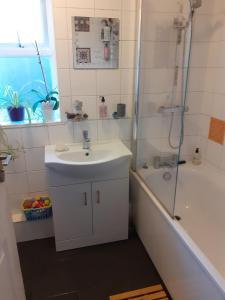 A bathroom at Abundance Hous