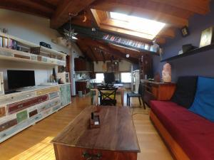 Area soggiorno di B&B Mirò