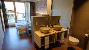 Ein Badezimmer in der Unterkunft ABZ Spiez Hotel Seaside