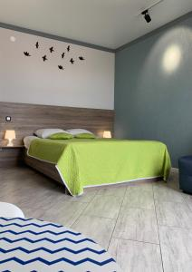 A bed or beds in a room at Lomse