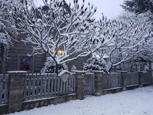 Srub Bublava 806 v zimě