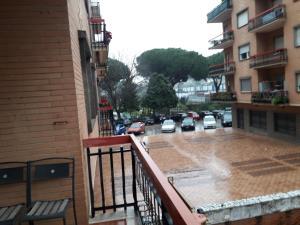 A balcony or terrace at villa del colle appartamento