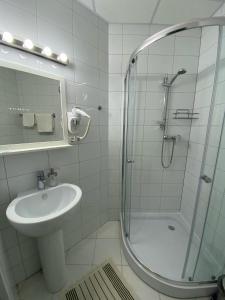 Ванная комната в Гостиница Палисад