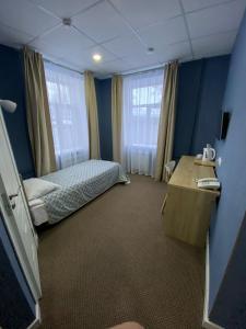 Кровать или кровати в номере Гостиница Палисад