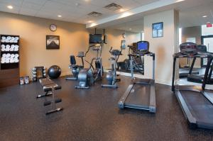 The fitness center and/or fitness facilities at Holiday Inn Vancouver-Centre Broadway, an IHG Hotel