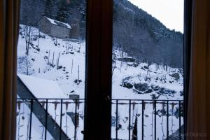 Hotel Saueth during the winter
