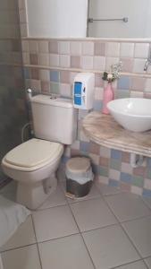 A bathroom at Porto Mar de Búzios