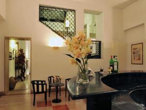 A bathroom at Hotel Victoria Maiorino