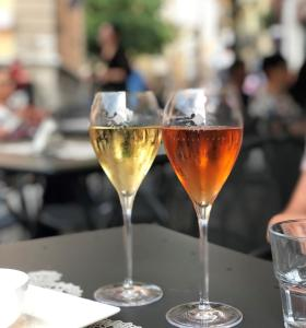 Getränke in der Unterkunft Hotel Restaurant Jura