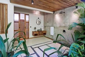 A seating area at SELVA RESORT Ocean View Luxury Villas