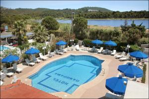Vista sulla piscina di Panorama o su una piscina nei dintorni
