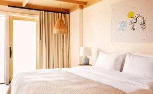 A bed or beds in a room at Marram