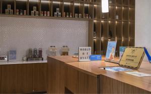 A kitchen or kitchenette at BEI Zhaolong Hotel, a JdV by Hyatt