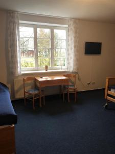Ein Sitzbereich in der Unterkunft VITA Ferienresidenz