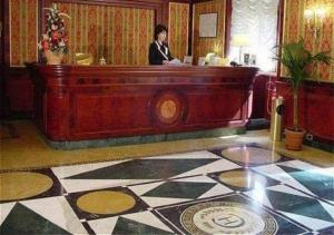 The lobby or reception area at Hotel Cilicia