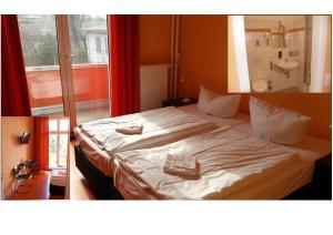 Un ou plusieurs lits dans un hébergement de l'établissement Happy Go Lucky Hotel + Hostel