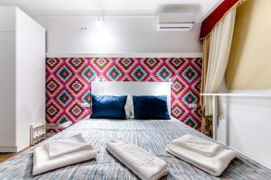 Кровать или кровати в номере Мини-Отель Намасте