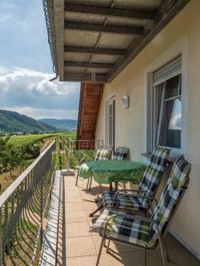 Een balkon of terras bij Ferienweingut Winnebeck