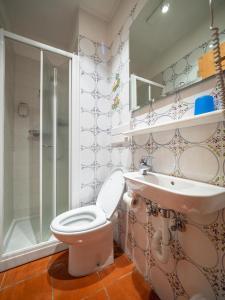 Koupelna v ubytování Bait da Salient MyHoliday Livigno