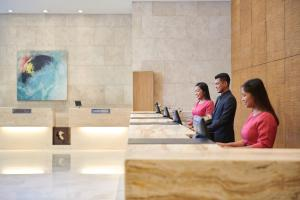The lobby or reception area at The Boulevard – A St Giles Hotel, Kuala Lumpur