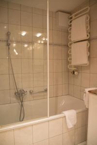 A bathroom at Saaserhof Apartments