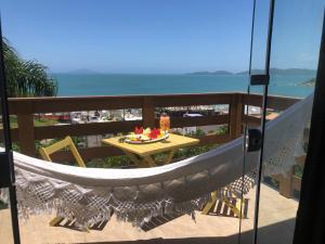 A balcony or terrace at Pousada do Arvoredo
