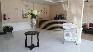 O saguão ou recepção de Land Beach An Narjis