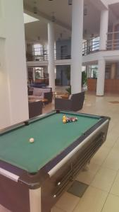 A pool table at Eurhotel