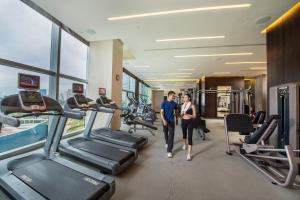 The fitness center and/or fitness facilities at City of Dreams Macau - Nüwa Macau