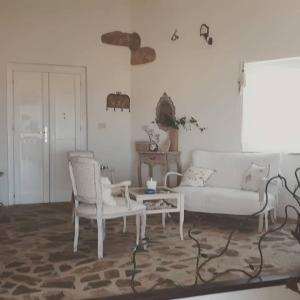 A seating area at Villa La Cuata