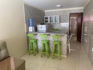 A kitchen or kitchenette at Casa Bem Estar Palestina