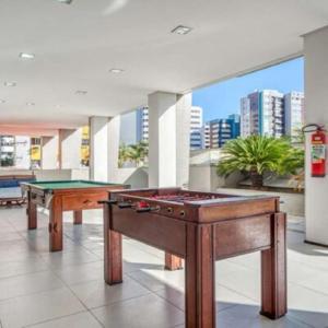 A billiards table at Ritz Coralli Hotel