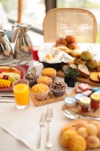 Opções de café da manhã disponíveis para hóspedes em Hilton Copacabana Rio de Janeiro