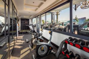 The fitness center and/or fitness facilities at Aira Boutique Hanoi Hotel & Spa