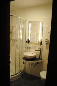 Koupelna v ubytování Landmark Eco Hotel