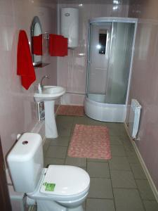 Ванная комната в Motel Zebra