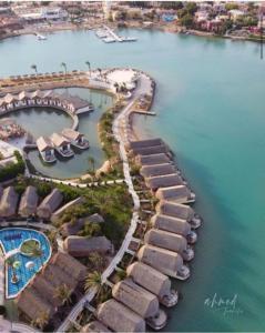 Panorama Bungalows Resort El Gouna с высоты птичьего полета
