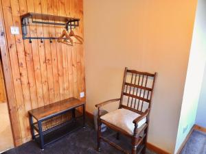 A seating area at Windhaven Cafe, Camping and B&B