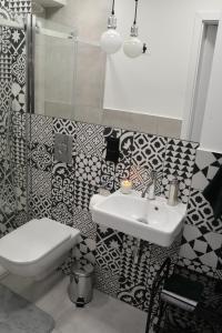 A bathroom at LOFT MAŁY