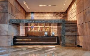 The lobby or reception area at ARIA Resort & Casino