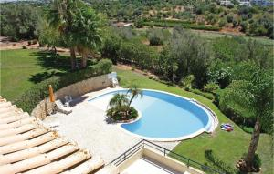 A view of the pool at Two-Bedroom Apartment in Alvor or nearby