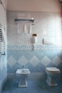A bathroom at Hotel Geo