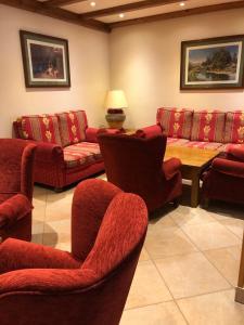 Zona de estar de Hotel Soldeu Maistre