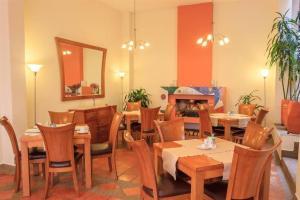 Restaurant ou autre lieu de restauration dans l'établissement Hotel Casa Deco
