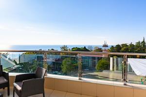 Балкон или терраса в Apartment Ideal House