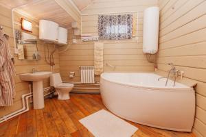 Ванная комната в Отель Уральский Теремок