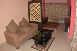 A seating area at The Seaview Residency