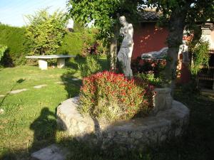 A garden outside El Campo