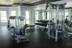The fitness centre and/or fitness facilities at 10 mins to Disney - Hot tub - King Puffy Lux