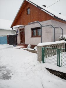 Apartman Anna during the winter